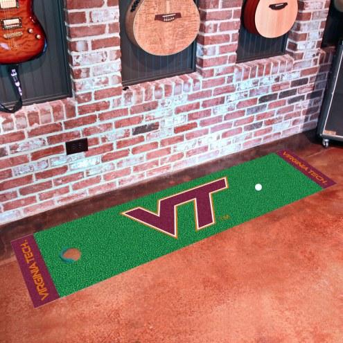 Virginia Tech Hokies Golf Putting Green Mat