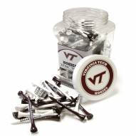 Virginia Tech Hokies 175 Golf Tee Jar