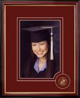 Virginia Tech Hokies Graduate Portrait Frame