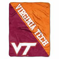 Virginia Tech Hokies Halftone Raschel Blanket