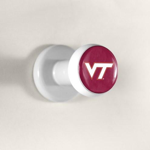 Virginia Tech Hokies Hat Pegz