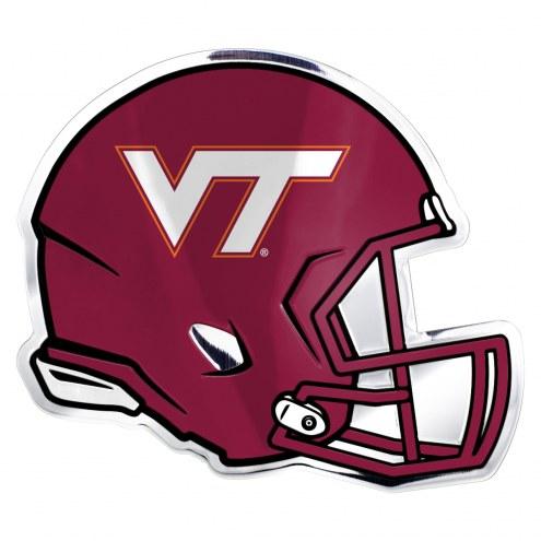 Virginia Tech Hokies Helmet Car Emblem