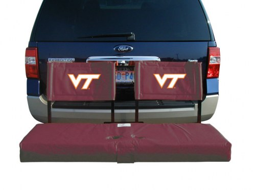 Virginia Tech Hokies Tailgate Hitch Seat/Cargo Carrier
