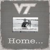 Virginia Tech Hokies Home Picture Frame
