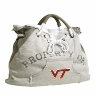 Virginia Tech Hokies Hoodie Tote Bag