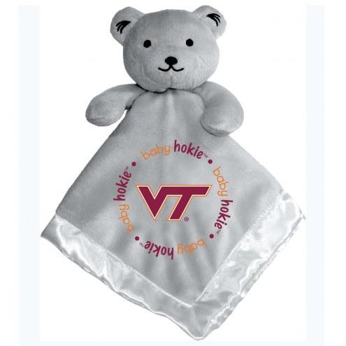 Virginia Tech Hokies Infant Bear Security Blanket