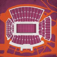 Virginia Tech Hokies Lane Stadium Print
