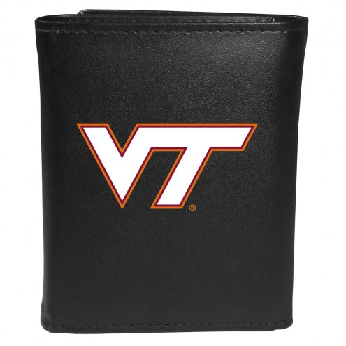 Virginia Tech Hokies Large Logo Tri-fold Wallet