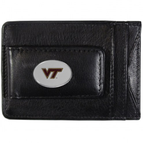 Virginia Tech Hokies Leather Cash & Cardholder