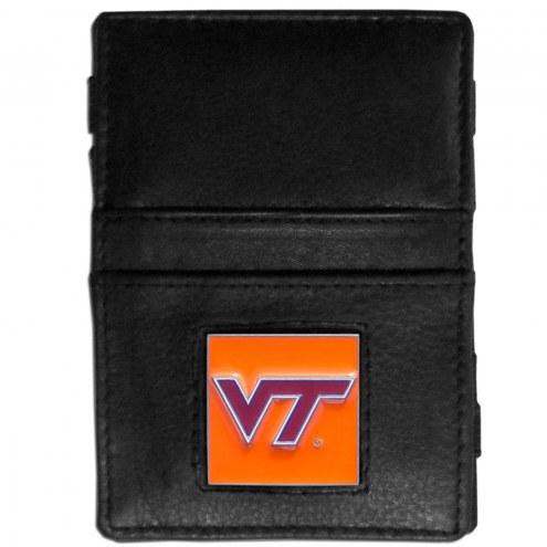 Virginia Tech Hokies Leather Jacob's Ladder Wallet