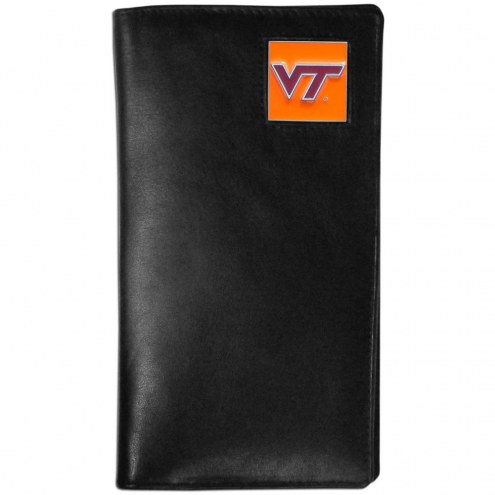 Virginia Tech Hokies Leather Tall Wallet