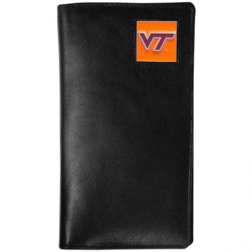 Virginia Tech Hokies Leather Tall Wallet