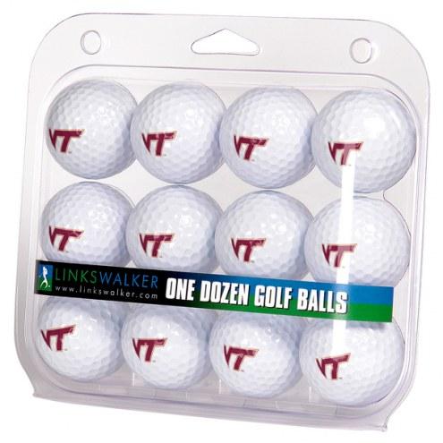 Virginia Tech Hokies Dozen Golf Balls