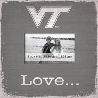 Virginia Tech Hokies Love Picture Frame