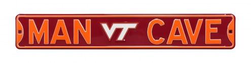 Virginia Tech Hokies Man Cave Street Sign