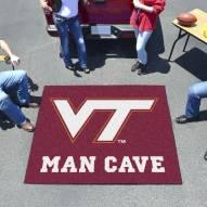 Virginia Tech Hokies Man Cave Tailgate Mat