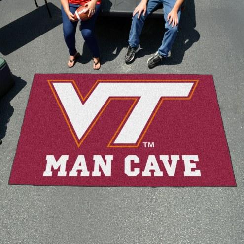 Virginia Tech Hokies Man Cave Ulti-Mat Rug