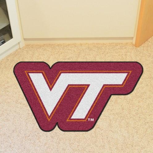 Virginia Tech Hokies Mascot Mat