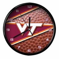 Virginia Tech Hokies Football Clock