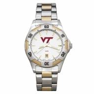 Virginia Tech Hokies Men's All-Pro Two-Tone Watch