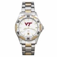 Virginia Tech Hokies Men's All-Pro Two-Tone Watch