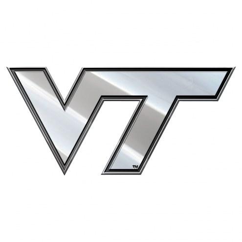 Virginia Tech Hokies Metal Car Emblem