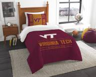 Virginia Tech Hokies Modern Take Twin Comforter Set