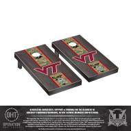 Virginia Tech Hokies Operation Hat Trick Stained Cornhole Game Set