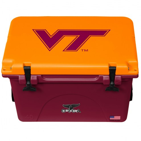 Virginia Tech Hokies ORCA 40 Quart Cooler