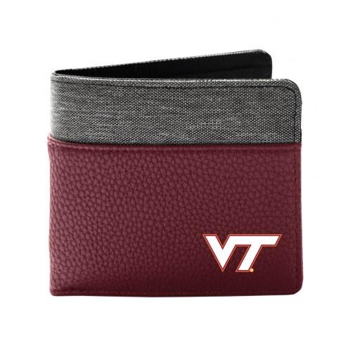 Virginia Tech Hokies Pebble Bi-Fold Wallet