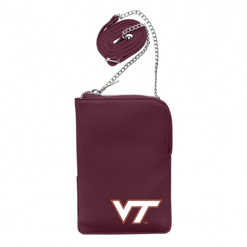 Virginia Tech Hokies Pebble Smart Purse