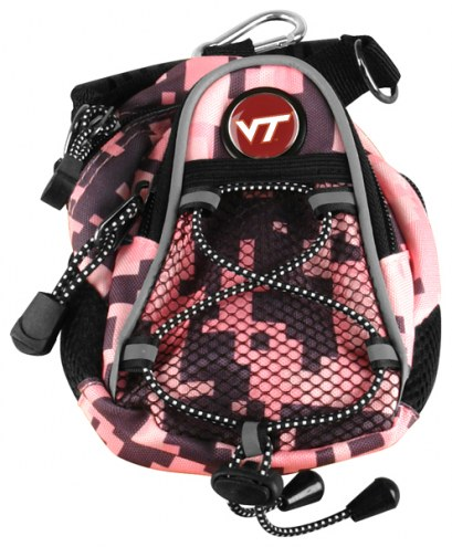 Virginia Tech Hokies Pink Digi Camo Mini Day Pack