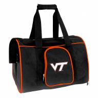 Virginia Tech Hokies Premium Pet Carrier Bag