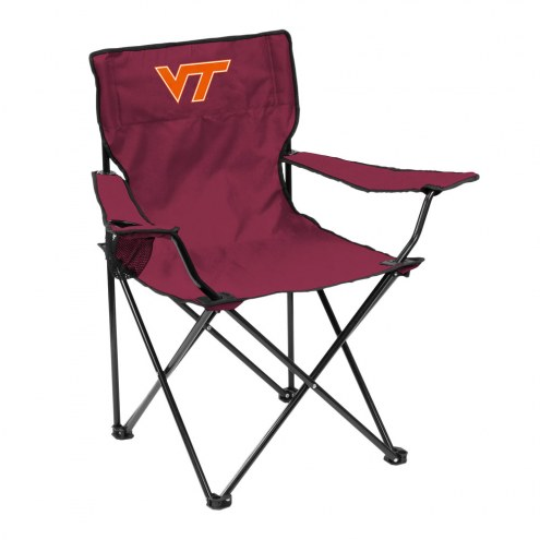Virginia Tech Hokies Quad Folding Chair