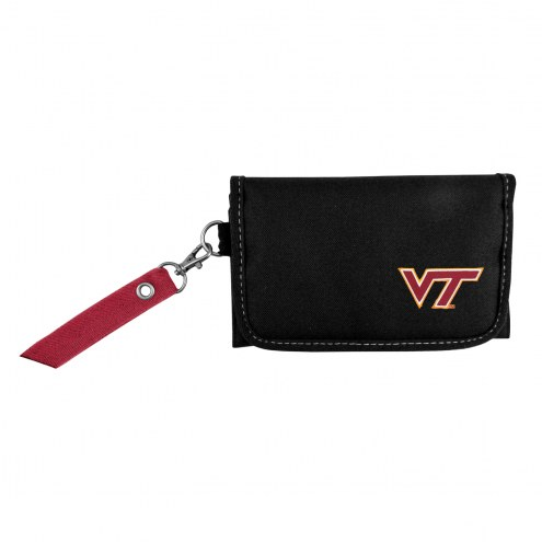 Virginia Tech Hokies Ribbon Organizer Wallet