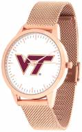 Virginia Tech Hokies Rose Mesh Statement Watch