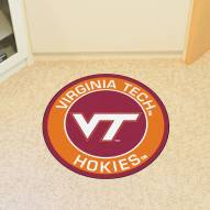 Virginia Tech Hokies Rounded Mat