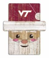 Virginia Tech Hokies Santa Ornament