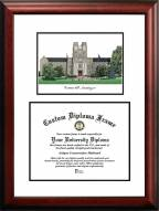 Virginia Tech Hokies Scholar Diploma Frame