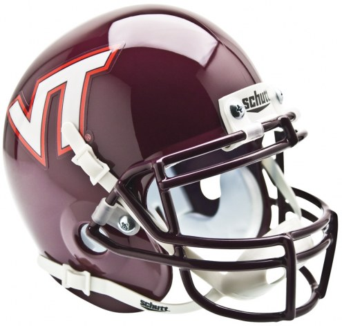 Virginia Tech Hokies Schutt Mini Football Helmet