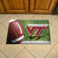 Virginia Tech Hokies Scraper Door Mat