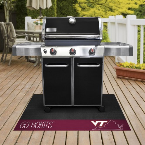 Virginia Tech Hokies Southern Style Grill Mat