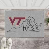 Virginia Tech Hokies Southern Style Starter Rug