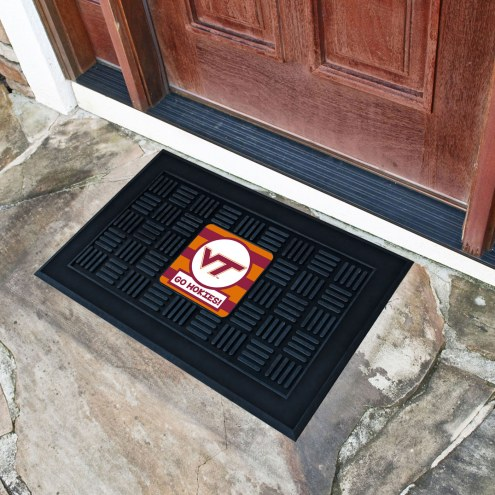 Virginia Tech Hokies Southern Style Vinyl Door Mat