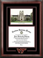 Virginia Tech Hokies Spirit Graduate Diploma Frame