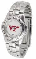 Virginia Tech Hokies Sport Steel Women's Watch