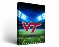 Virginia Tech Hokies Stadium Canvas Wall Art