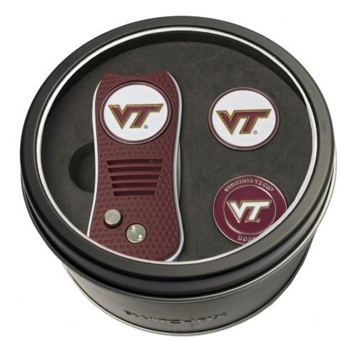 Virginia Tech Hokies Switchfix Golf Divot Tool & Ball Markers