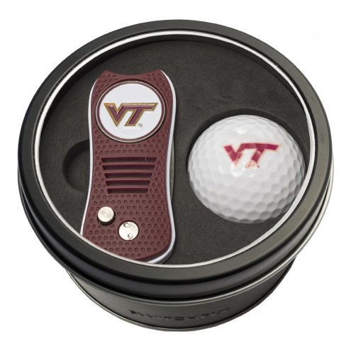 Virginia Tech Hokies Switchfix Golf Divot Tool & Ball