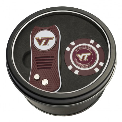 Virginia Tech Hokies Switchfix Golf Divot Tool & Chip